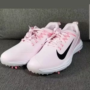 Nike Women's Lunar Empress 2 Golf Shoes Pink Black